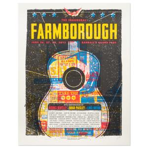 Farmborough 2015 Event Poster | Musictoday Superstore