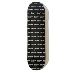 Portraits All-Over Logo Skateboard Deck