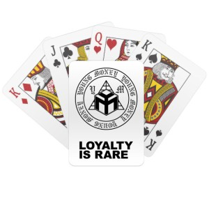 Young Money Entertainment Playing Cards