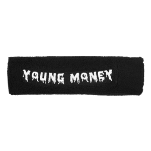 Young Money Black Sweatband