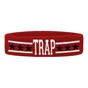TRAP All Stars Sweatband [Red]