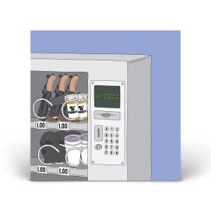 Future's vending machine print