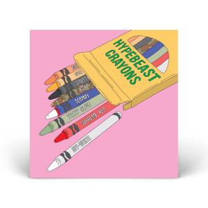 Hypebeast crayons print