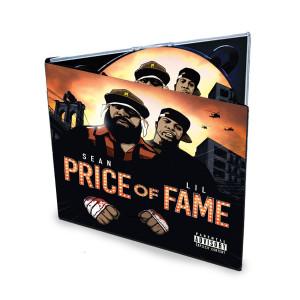 """Sean Price & Lil Fame titled """"Price of Fame"""" CD"""