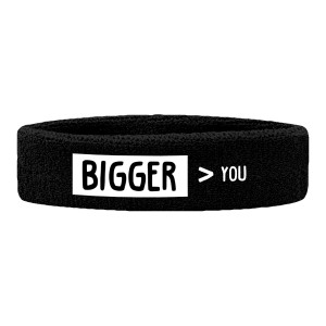 Bigger Than You Logo Sweatband