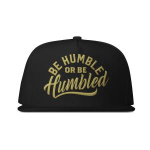 Humble Snapback Hat [Gold Edition]