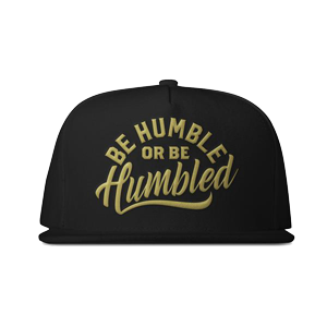 Humble Snapback Hat [Gold Edition]