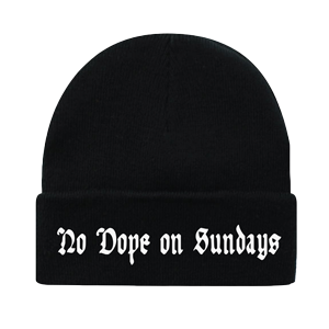No Dope on Sundays Beanie