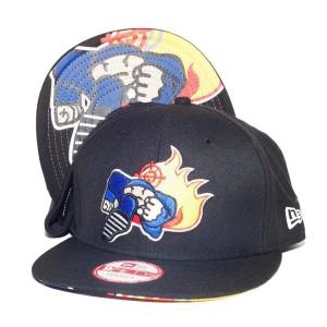 Duck Down Logo New Era Deluxe Snapback Hat
