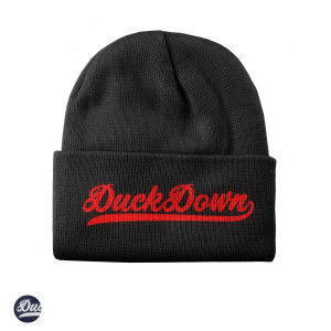 Duck Down Baseball Knit Beanie