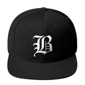 Olde English B Snapback Hat