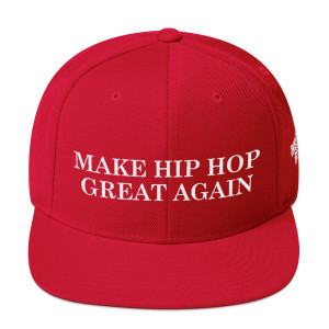 Make Hip Hop Snapback Hat