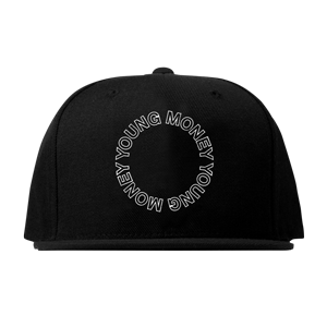 Young Money Circle Snapback Hat