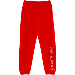Slaughter Gang Red Sweatpants
