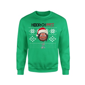 HOODRICHMAS Ugly Christmas Sweatshirt