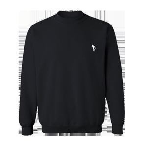 Jidenna Logo Crewneck Sweater (Black)
