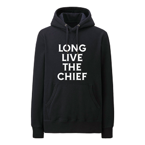Long Live The Chief Hoodie (Black)