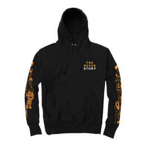 The Never Story Hooded Sweatshirt [Black]