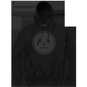 Snowman Emoji Hoodie [Black/Black]