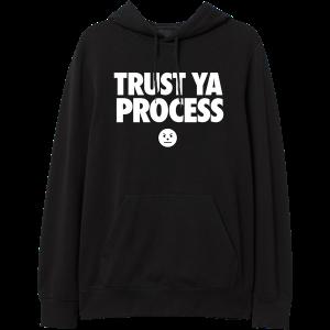TYP Black Hoodie - Emoji & TM104 Digital Download