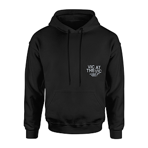 Vic at the Vic Pullover Hoodie