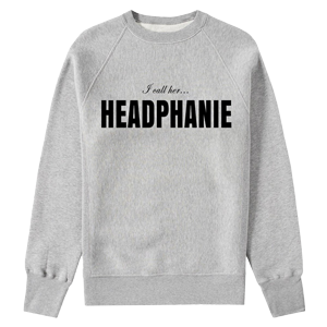 Headphanie Crewneck Sweatshirt