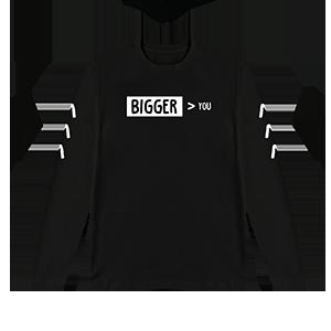 Bigger Than You Symbol L/S T-Shirt