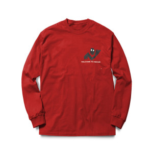 Rehab Red Long Sleeve Tee