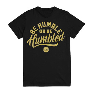 Humble T-Shirt [Black/Gold Edition]