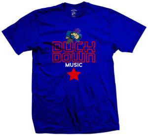Duck Down Music All Star T-Shirt [Blue]