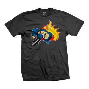 Duck Down Music Running Man T-shirt