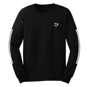 Pretty Mess Long Sleeve Shirt [Black]
