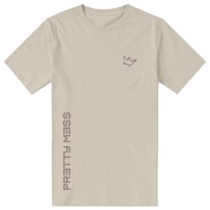 Pretty Me$$ T-Shirt [Tan]