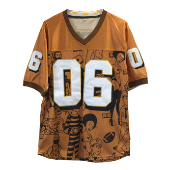 The Never Story Jersey [Orange]