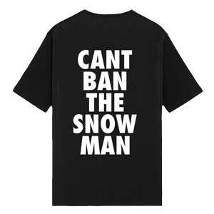 Can't Ban The Snowman Tee