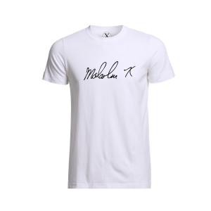 Malcolm X Signature T-Shirt [White]