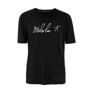 Malcolm X Signature T-Shirt [Black]