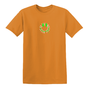 Smiley Face T-Shirt [Orange] + Album Bundle