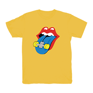 Tongue T-Shirt [Yellow] + Album Bundle