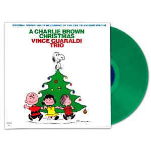 A Charlie Brown Christmas - Vince Guaraldi Trio Green Vinyl LP