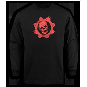 Gears of War Long Sleeve Crimson Omen T-Shirt