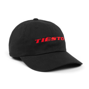 'Boxed' Logo Dad Hat - Red/Black