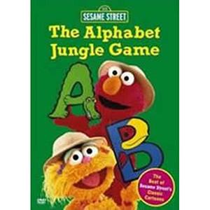 The Alphabet Jungle Game DVD