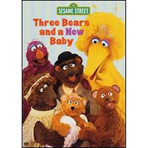 Three Bears & New Baby DVD