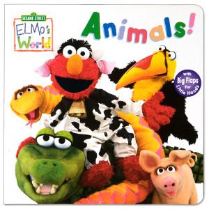 Elmo's World: Animals! Book