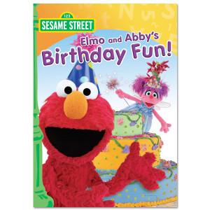 Elmo And Abby's Birthday Fun! DVD