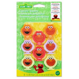 Elmo Cupcake Topper Set
