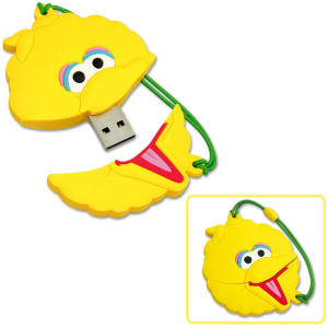 Big Bird Do The Alphabet Video USB