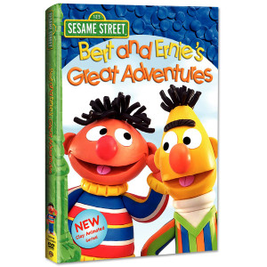 Bert & Ernie's Great Adventures DVD