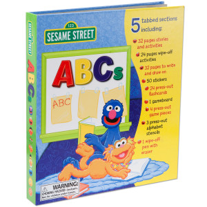Sesame Street ABCs Activity Center Book